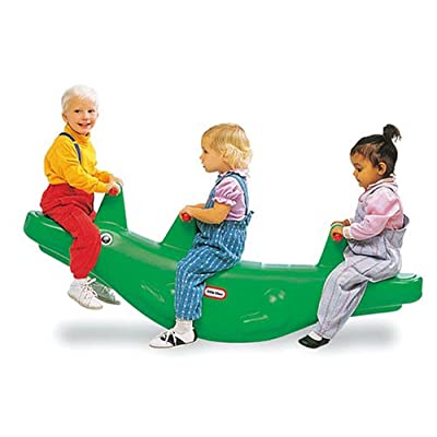 Little Tikes Classic Alligator Teeter Totter: Toys & Games