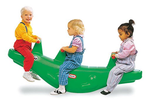 Little Tikes Classic Alligator Teeter Totter by Little Tikes