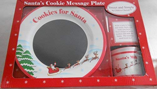 (Sweet & Simple Santa's Cookie Message)