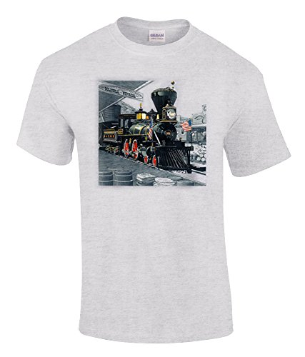 Virginia and Truckee Authentic Railroad T-Shirt Adult Large ()