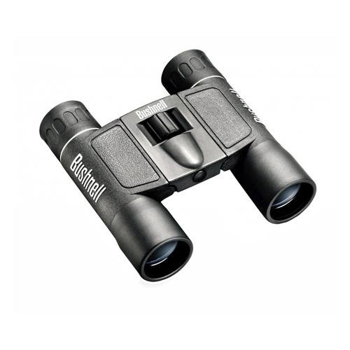 Bushnell Powerview 12x25 Compact Folding Roof Prism Binocular (Black)
