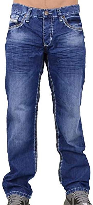 Viazoni męskie spodnie jeansowe Hugo New Blue – proszę zwrÓcić uwagę na rozmiary!: Odzież