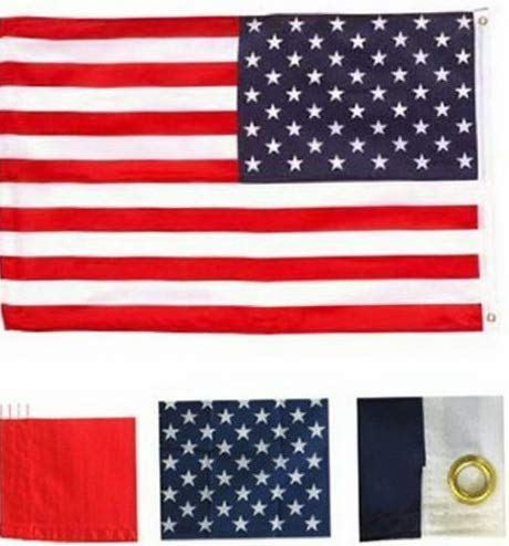 Kaputar 4x6 USA American Flag United States Banner US Polyester Pennant America New | Model FLG - 7410