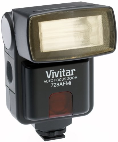 Vivitar 728AF AutoFocus Zoom Electronic Flash for Minolta i Cameras