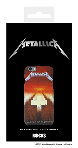 Metallica Metal Circle with Rubber Coating Hard Case for iPhone 6 (Metallica/Master of Puppets)
