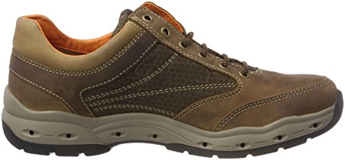 GTX Marrone 11 Uomo camel Breathe Scarpe Stringate Mushroom active Oxford wqAE8A7