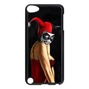 I-Cu-Le Customized Print Harley Quinn Pattern Hard Case for iPod Touch 5