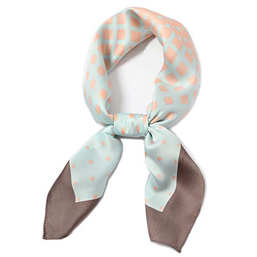 Kerchief Neck Scarf, LITOON Women Square Kerchief, Multi-function Scarf as Neckerchief,Handkerchief,Fashion Accessories (23.6X23.6 inch) (Dot/Light - Tie Ladies Scarf