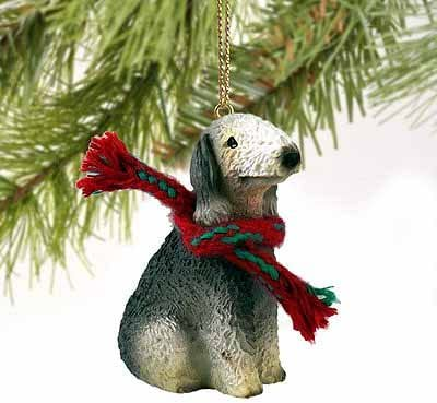 Bedlington Terrier Miniature Dog Ornament Home Kitchen