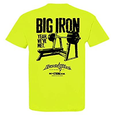 Ironville Big Iron Yeah We've Met Bodybuilding T-Shirt