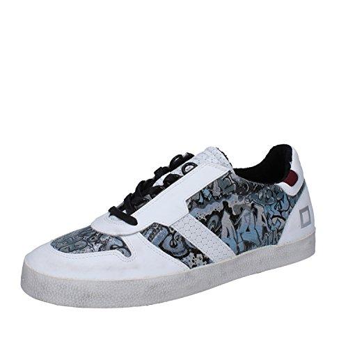 Uomo Data Aveva Sneaker Grigia Bianca Data 42 Pelle qw1wnWvt4