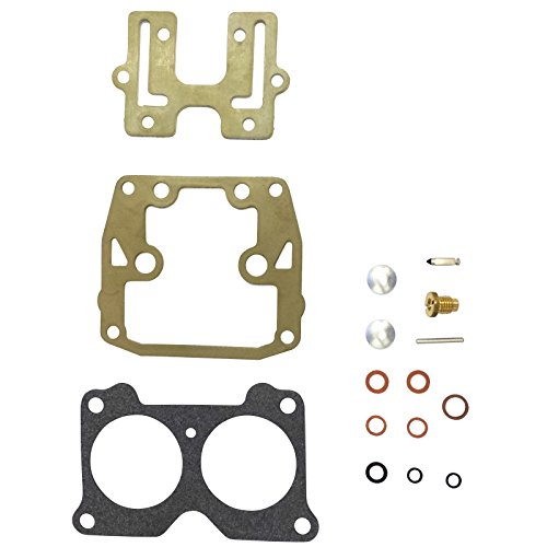 Carb Carburetor Rebuild Kit 85 90 100 115 125 140HP (Replaces/Compatible With Johnson & Evinrude Part Numbers 439076, 435443, 434888, 398526, 392550, 390055) ()