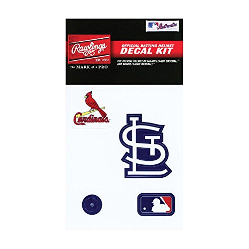 - Rawlings Sporting Goods MLBDC Decal Kit, St. Louis Cardinals