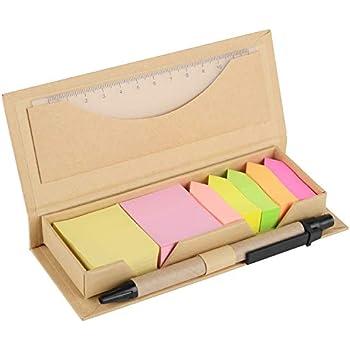 Amazon.com : Colored Sticky Note Bundle Set, Mini ...