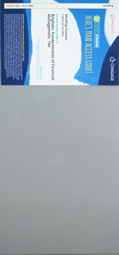 MindTap Finance, 1 term (6 months) Printed Access Card for Brigham/Houston's Fundamentals of Financial Management, 14th