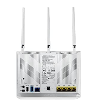 Asus Wi-fi Router With Data Rates Up To 1900 Mbps (Rt-ac68w) 3
