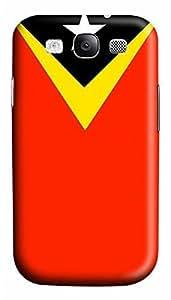 Samsung S3 Case East Timor Flag 3D Custom Samsung S3 Case Cover