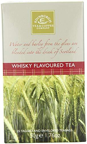 Edinburgh Tea & Coffee Company Whisky Flavoured Tea, 25 Count Teabags