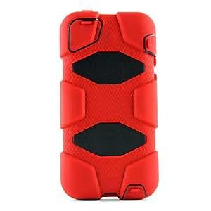 HOR Cubierta Survivor Militar Defender Case Con el soporte de clip para el iPhone 5C (colores surtidos) , Azul