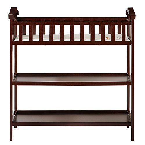 Dream On Me Jessica Changing Table, Espresso