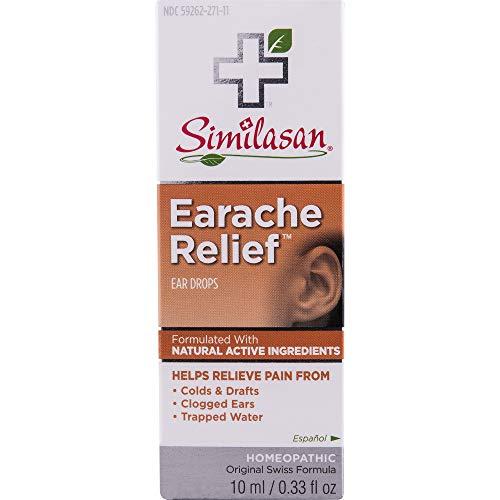 Similasan Earache Relief Ear Drops 10 mL (Drops Relief Earache)