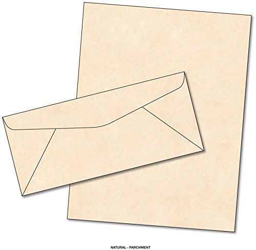 UPC 747906189810, Parchment Matching Paper & Envelopes - Color: Natural - 50 Sets