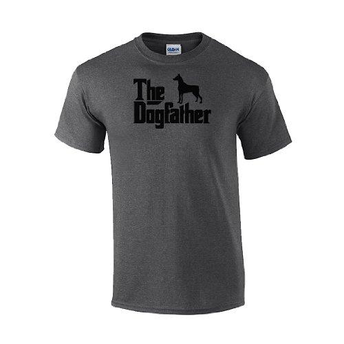 IamTee The Dogfather Doberman Pinscher T-Shirt