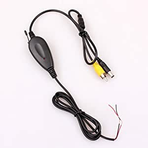 Backup Camera Wireless Transmitter and Receiver