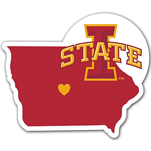 Siskiyou NCAA Iowa State Cyclones Home Decal, 5 Inch
