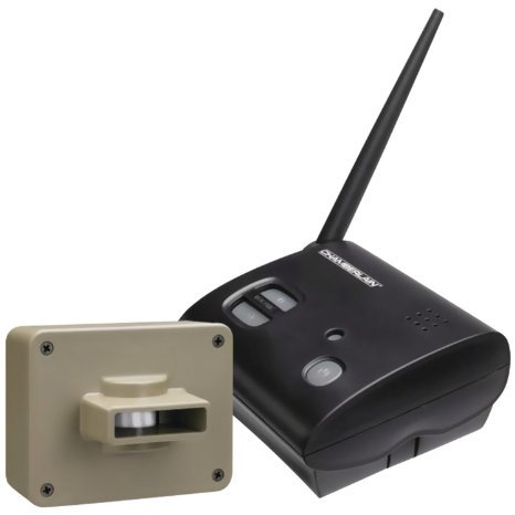 Wireless Motion Alert System in black by Chamberlain by Chamberlain