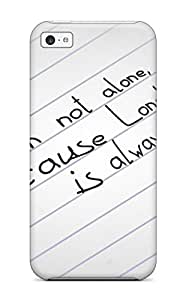Best Iphone 5c Case Cover Skin : Premium High Quality Sad Love Quote Case