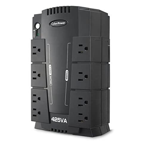CyberPower CP425SLG Standby UPS System, 425VA/255W, 8 Outlets, Compact (Ups Cyberpower)