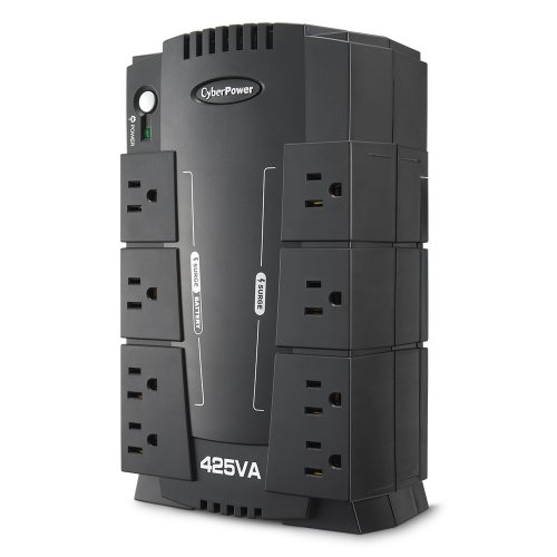 Cyberpower Rj11 Surge Protector (CyberPower CP425SLG/CP425HG Standby UPS 425VA 255W)