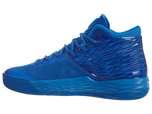 Jordan Nike Mens Melo M13 Basketball Shoe Soar/Deep Royal Blue