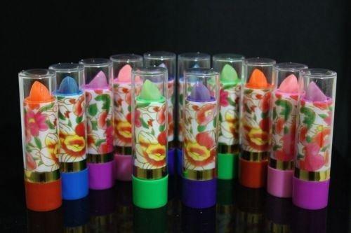 12x Magic Lipstick Mood Changing With Aloe Vera