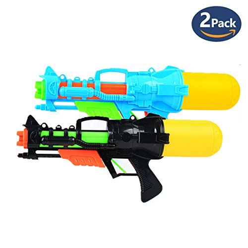 Fstop Labs Water Gun Super Soaker Blaster Kids Squirt Games  2 Pack