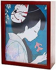 Caixa de música You are My Sunshine com moldura para fotos, caixa musical de madeira