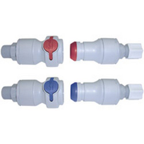 Cpc 5/8inch Hose Barb Valved Coupling Insert
