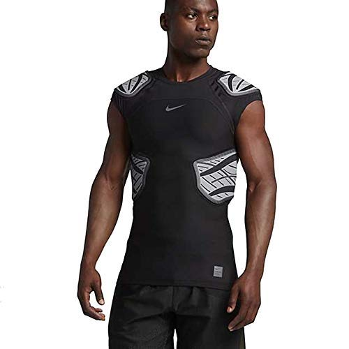Jersey Nfl Black Football Genuine - Nike Targeted Impact Compression Football Shirt Black XL