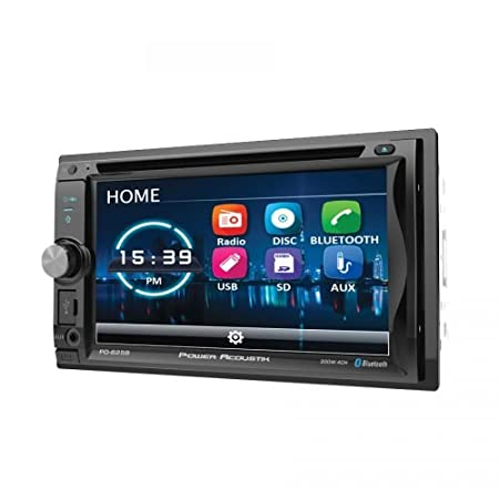 Power Acoustik PD-625B 2-DIN Source Unit with Bluetooth//Detachable 6.2 LCD