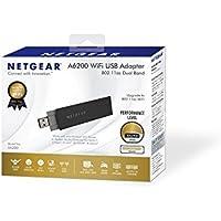 NETGEAR A6200 WiFi USB Adapter - network adapter (A6200-100NAS) -