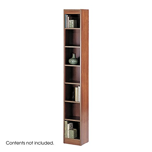 Safco 7-Shelf Veneer Baby Bookcase, 12