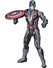Marvel Avengers Avengers: Endgame Shield Blast Captain America 13-tums skala figur med 20+ ljud och fraser
