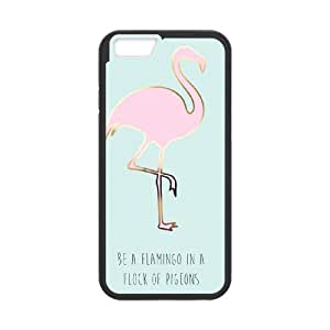Be A Flamingo In A Flock Of Pigeons iPhone 6 4.7 Inch Cell Phone Case Black 218y-736643