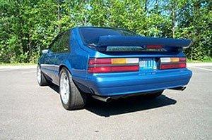 Xenon Rear Bumper Cover - 1