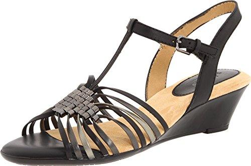 (softspots Women's Vista T-Strap Wedge Sandals)