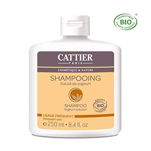 Amazon.com : Cattier Yoghurt Solution Shampoo (For Frequent Use) 8.4oz, 250ml by Cattier : Beauty