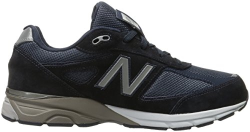 New Balance KJ990V4 Grade Running Shoe (Big Kid) Navy