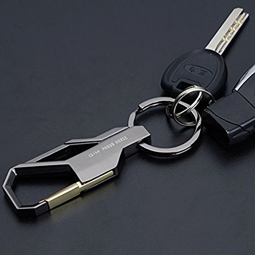 SOOKOO Car Key Chain Key Ring Business Gift for Men