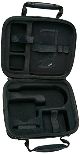 Fluke Networks FT525-CASE Soft Carrying Case for FT525 FiberInspector Mini and Cleaning Kit, Fiber Tester Accessory by Fluke Networks